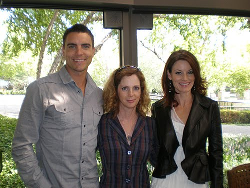 Melrose Place Press Tour