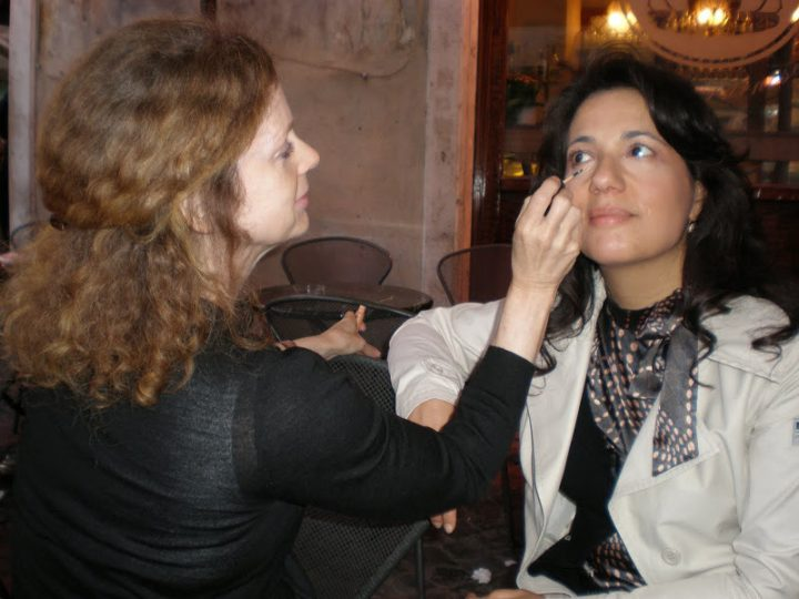Makeup Lesson On Location